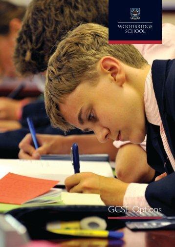 GCSE options 2015