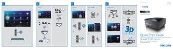 Philips Proiettore a LED Screeneo Smart - Guida rapida - KOR