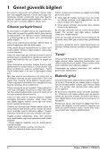 Philips PicoPix Proiettore tascabile - Istruzioni per l'uso - TUR - Page 4
