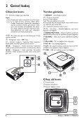 Philips PicoPix Proiettore tascabile - Istruzioni per l'uso - TUR - Page 6