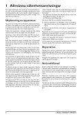 Philips PicoPix Proiettore tascabile - Istruzioni per l'uso - SWE - Page 4