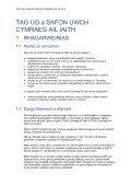 CYMRAEG AIL IAITH MANYLEB - Page 6
