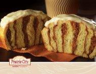 Prairie City Bakery Product Line Brochure