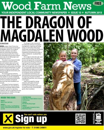 THE DRAGON OF MAGDALEN WOOD