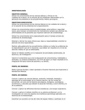 ANESTESIOLOGÍA - Facultad de Medicina - Universidad Autónoma ...