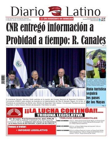 Edición 12 de Noviembre de 2015