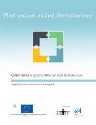 Platforma për analizë dhe hulumtime