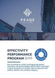 Effectivity Performance Program (EPP)