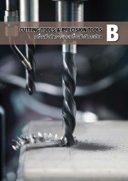 INDEX  B CUTTING TOOLS & PRECISION TOOLS