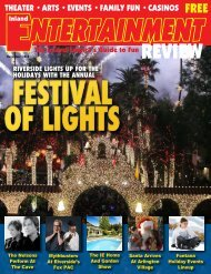 Inland Entertainment Review, November, 2015
