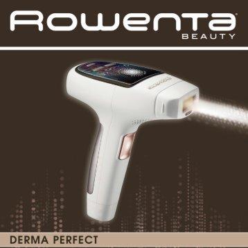 Rowenta DERMA PERFECT EP9830 - DERMA PERFECT EP9830 Español