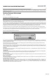 Bankhaus Neelmeyer Aktienstrategie - Hansainvest