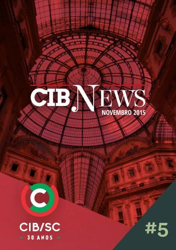 CIB NEWS #5 NOVEMBRO 2015