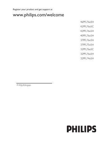 Philips TV LED - Istruzioni per l'uso - FIN