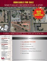 AVAILABLE FOR SALE SIMI VALLEY RESIDENTIAL LAND