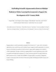Scaffolding Scientific Argumentation Between Multiple Students in ...