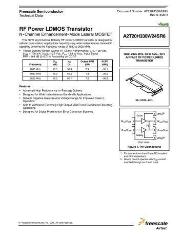 RF Power LDMOS Transistor