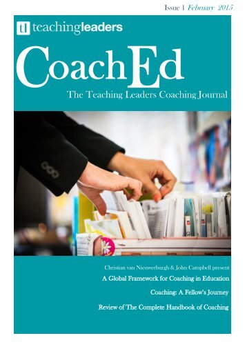 The Teaching Leaders Coaching Journal