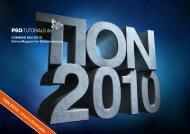 TION 2010 - Von der Kunst, mit dem Zuschauer - PSD-Tutorials.de