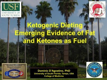 Ketogenic Dieting Emerging Evidence of Fat and Ketones as Fuel