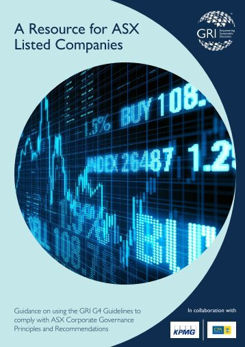 A Resource for ASX Listed Companies
