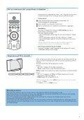 Philips Cineos Flat TV widescreen - Istruzioni per l'uso - SWE - Page 3
