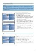 Philips Cineos Flat TV widescreen - Istruzioni per l'uso - SWE - Page 7