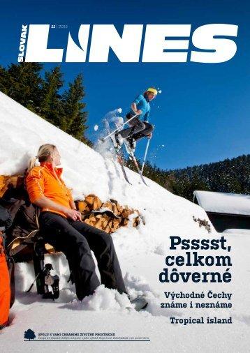 In Drive Magazin Slovak Lines 11/2015