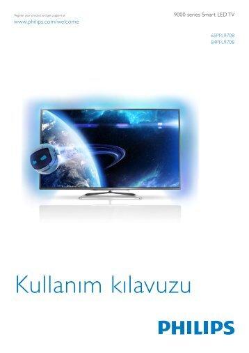 Philips 9000 series Smart TV LED ultra sottile - Istruzioni per l'uso - TUR