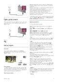 Philips 9000 series Smart TV LED ultra sottile - Istruzioni per l'uso - TUR - Page 7