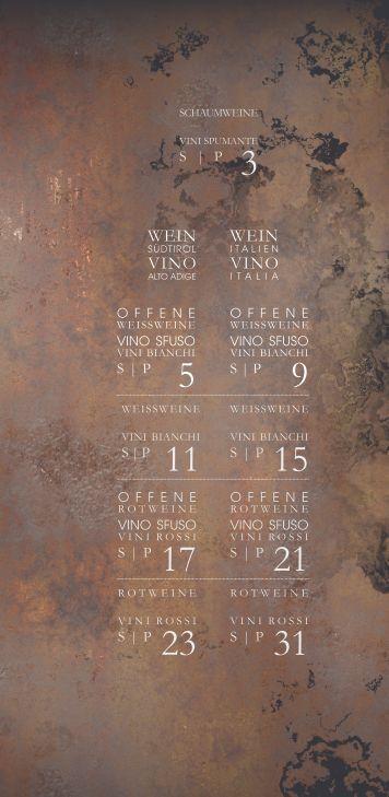 Coroneshütte - Kronplatz - Neue Weinkarte für den Winter 2015/2016