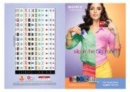 Brochure - Sony
