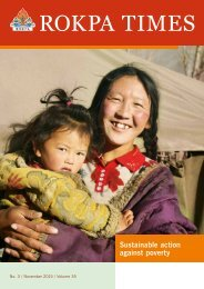 ROKPA Times November 2015 - Sustainable action against poverty