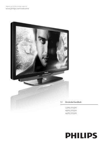 Philips TV LED - Istruzioni per l'uso - SWE