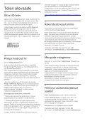 Philips 6500 series TV LED sottile Full HD Android™ - Istruzioni per l'uso - EST - Page 4