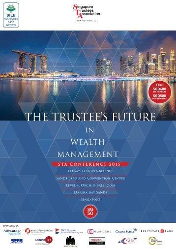 The trustee's future
