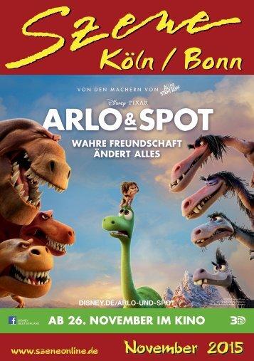 Szene Köln-Bonn, Ausgabe 11.2015