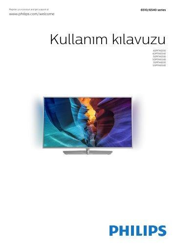 Philips 6500 series TV LED sottile Full HD Android™ - Istruzioni per l'uso - TUR