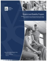 Virginia Local Disability Program