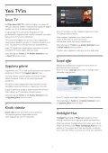 Philips 6000 series TV LED Full HD sottile - Istruzioni per l'uso - TUR - Page 4