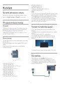 Philips 6000 series TV LED Full HD sottile - Istruzioni per l'uso - TUR - Page 7