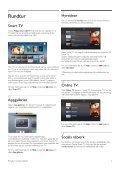 Philips DesignLine Smart TV LED ultra sottile - Istruzioni per l'uso - SWE - Page 3