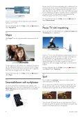 Philips DesignLine Smart TV LED ultra sottile - Istruzioni per l'uso - SWE - Page 4