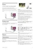 Philips DesignLine Smart TV LED ultra sottile - Istruzioni per l'uso - SWE - Page 7