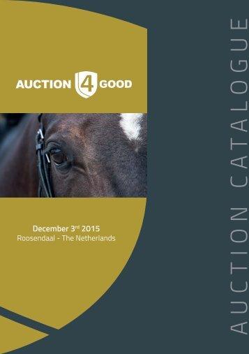 Catalogus Auction4Good - Dec 2015