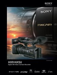 HXR-NX5U - Sony