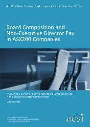 Board Composition and Non-Executive Director Pay in ASX200 Companies
