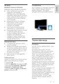Philips 4000 series TV LED 3D sottile - Istruzioni per l'uso - LIT - Page 5