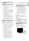 Philips 3000 series TV LED Slim - Istruzioni per l'uso - FIN - Page 5