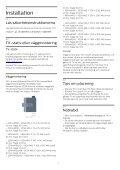 Philips 4000 series TV LED sottile Full HD - Istruzioni per l'uso - SWE - Page 4